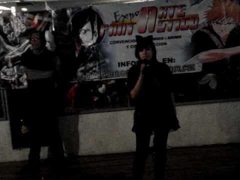 Anime expo 2009 celaya Karaoke Ringo-chan