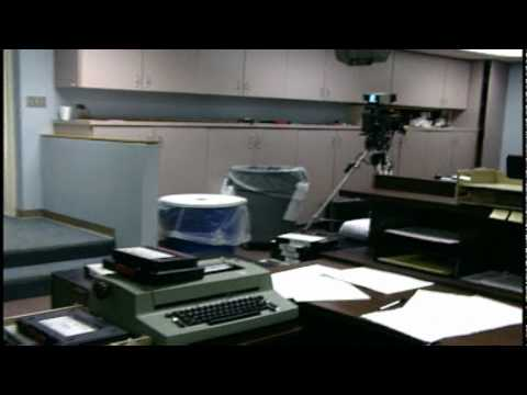 Behind the scenes of WDEF, News 12 Newsroom in the early 90s