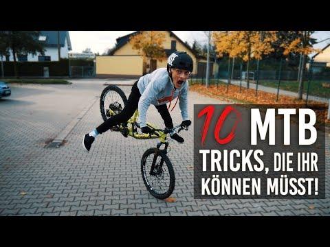 10 MTB TRICKS,