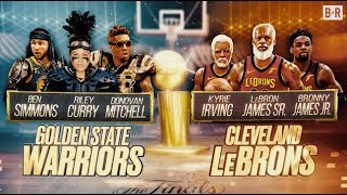 Previewing the Warriors vs. Cavs NBA Finals...For the Next 30 Years