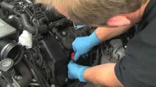 Replacing spark plugs & high performance ignition coils on a BMW V8 N62 engine