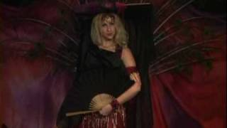 Sedona of Belly Dance Soulfire performs with Fan Veils