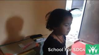 School For SDG4: How the kids are learning at School Part 34