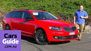 Skoda Octavia 2016 review | first drive video(Malcolm Flynn road tests and reviews the Skoda Octavia with specs, fuel consumption and verdict. Read Malcolm's full review here: http://carsgui.de/2941yCA ..., 2016-06-30T06:34:21.000Z)