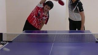 卓球始めたばかりの人が打つときによく注意される点 thumbnail