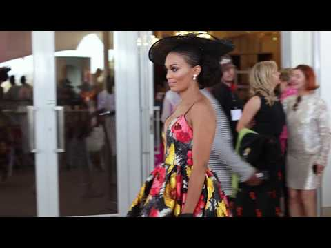 Pearl Thusi & Thembi Seete at The Inanda Polo Cup 2017