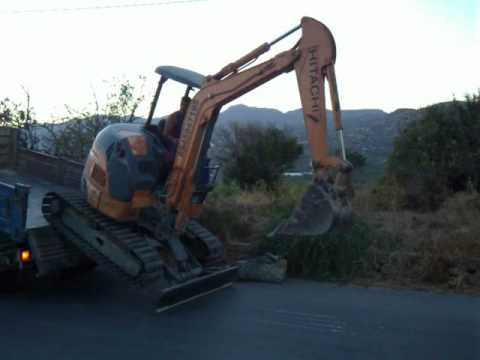 Mini Excavator - Tsapaki Hitachi ekfortosi - tarzania Vol 2