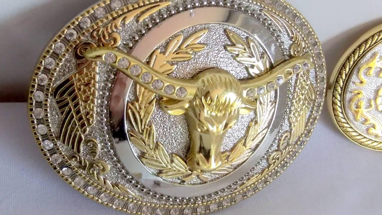98d1d798d268 Boucle ceinture cowboy - YouTube