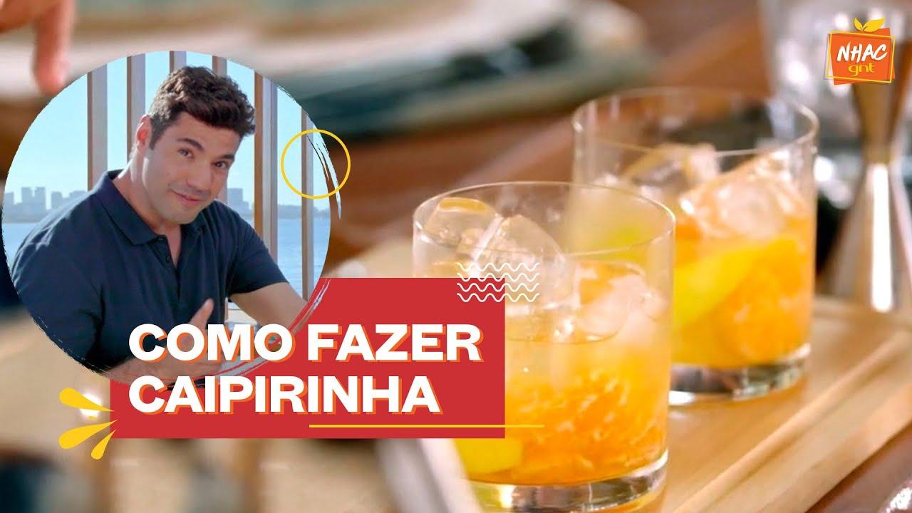 Caipirinha de lima-da-pérsia e tangerina   Felipe Bronze   Perto do Fogo