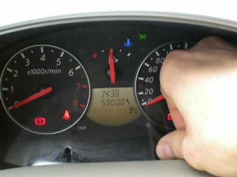 How To Reset Oil Service Light Nissan Rogue How To Save