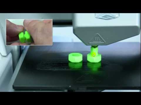how to fix a jammed 3d printer head with acetone