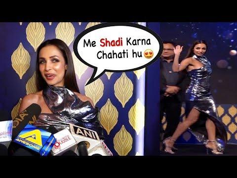 Malaika Arora Talks About LOVE with Arjun Kapoor & Blushing 😍😚
