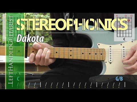 Stereophonics - Dakota guitar lesson