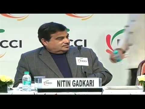 Shri Nitin Gadkari address FICCI's 87th Annual General Meeting in New Delhi