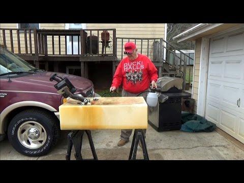 Pwalpars Resurrect My Boat Series Clean plastic Fuel Tank