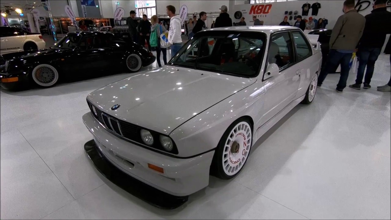 Bmw M3 E30 Tuning Show Car By Jp Performance White Colour Oz Racing Wheels Walkaround Youtube