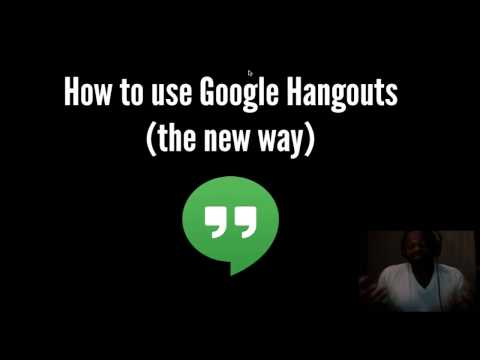 How-to Use Google Hangouts - NEW 2016 Tutorial