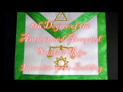 8th Degree of the Ancient and Accepted Scottish Rite - Intendant of the Building