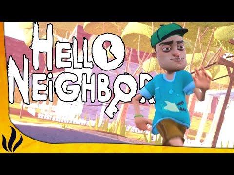 VERSION FINALE DU JEU ! (Hello Neighbor: ACTE 1)