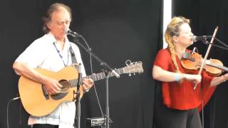 Martin Carthy and Eliza Carthy play at Beverley Folk Festival 2014