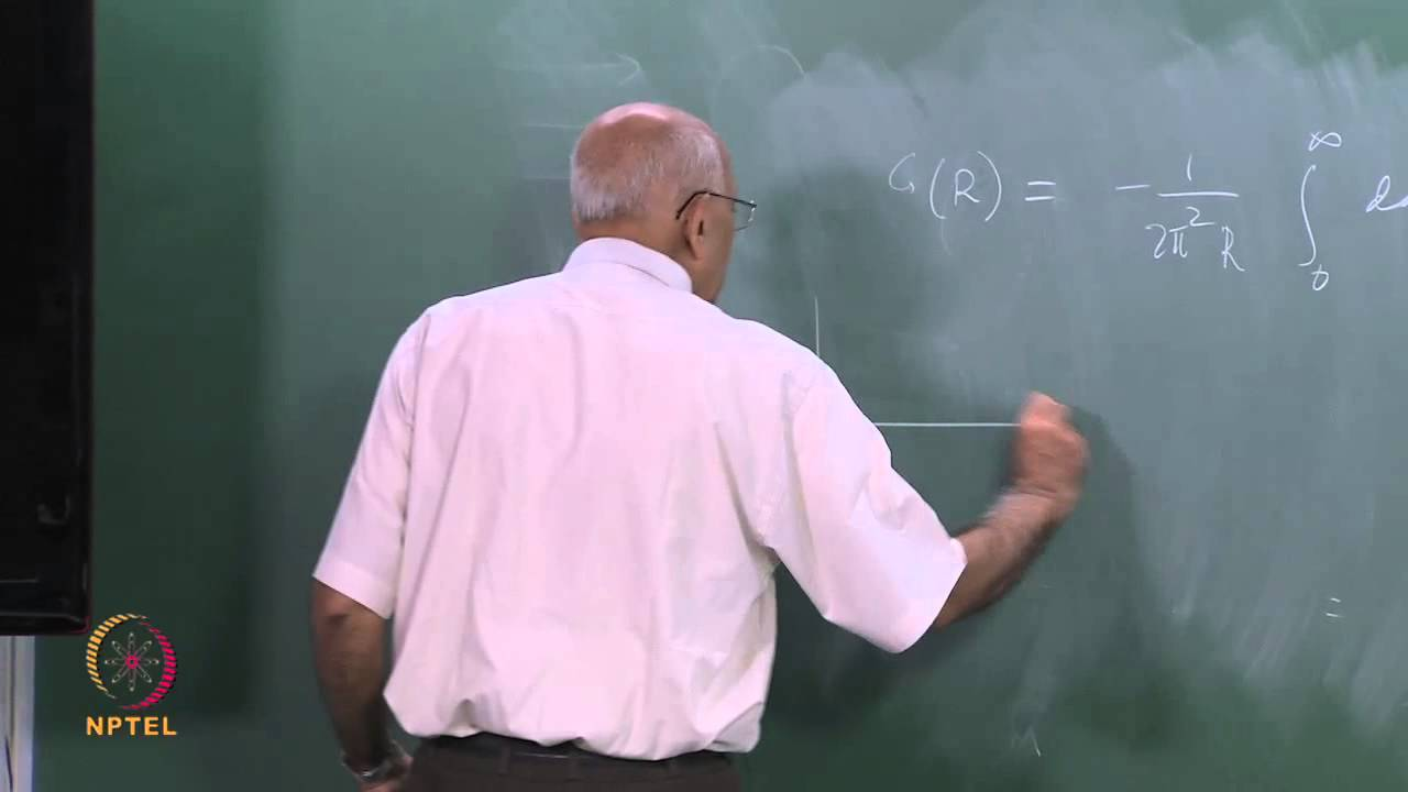 Mod-11 Lec-30 Green function for (Δ2 + k2); nonrelativistic scattering (Part II)