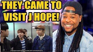 [BTS EPISODE] J HOPE 1st mixtape MV Shooting #2 | THEY CAME TO VISIT HIM!!!