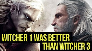 Things that Witcher 1 did BETTER than Wild Hunt gamepressure.com