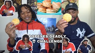 POPEYES *DEATH* CHALLENGE ! LOSER GETS EPIC CONSEQUENCE!! 😩😩