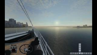 Trip on the RMS TItanic through New York -- Ship Simulator 2008