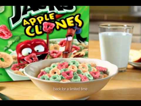 Kellogg's Apple Jacks Apple Clones Commercial 2