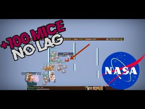 Transformice - Brkrmn (+100 MICE [NASA]) Racing Gameplay #35