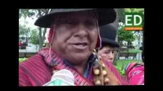 FESTEJOS POR LOS CUATRO AÑOS DEL ESTADO PLURINACIONAL DE BOLIVIA