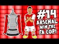 🏆Arsenal 2-1 vs Chelsea🏆 (Parody Goals Highlights Aubameyang 2020 FA Cup Final)