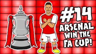 🏆Arsenal 2-1 vs Chelsea🏆 (Parody Goals Highlights Aubameyang 2020 FA Cup Final)