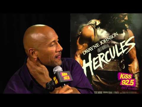 Dwayne 'The Rock' Johnson Talks Hercules with Mocha & Damnit Maurie   Inteview   KiSS 92.5