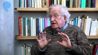 Noam Chomsky on Questions that influenced his life