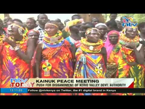 North Rift leaders discuss how to end cattle rustling