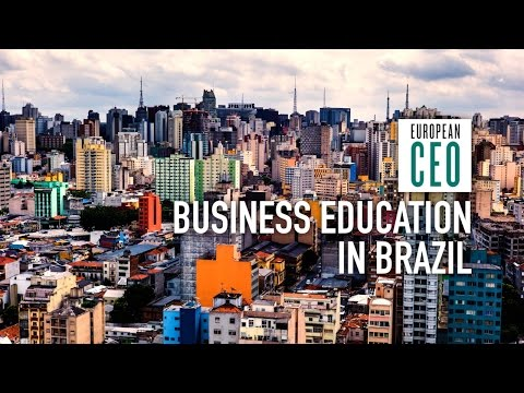 James Wright on business schools in Brazil | FIA Business School | European CEO Videos