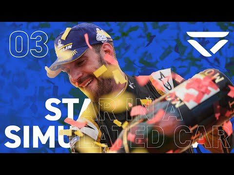 FORMULA E CHAMPION Jean-Eric Vergne is our Star In A Simulated Car!