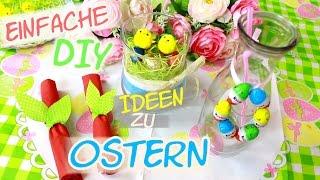 🐰 DIY Deko Ideen zu Ostern 🐰 schnelle & einfache Osterdeko 2016 | candybomb