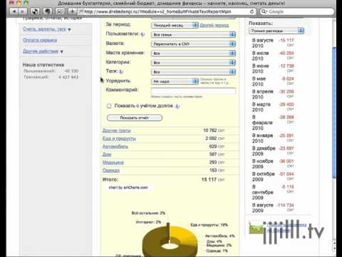 Онлайн домашней бухгалтерии форма бланки для регистрации ип в налоговой