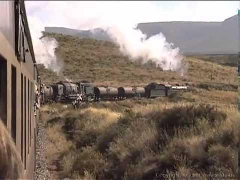 South African Railways - Last Locos to Lootsberg.  19B 1412 and GMAM 4122 August 2001