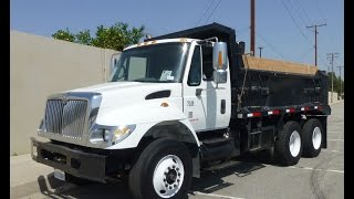 2005 International 7500 Automatic 12-15 Yard Dump Truck