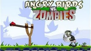 Angrybirds Vs Zombies Ultimate War - Plants vs Zombies Game Remake