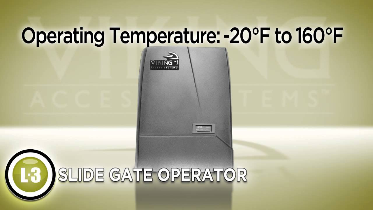 Viking Access Systems - L3 Slide Gate Operator on