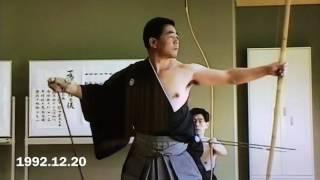 弓道 尾州竹林流  教士七段 長江辰彦 先生