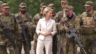 Schlegl in Aktion: Die Bundeswehr liebt ihre Minis