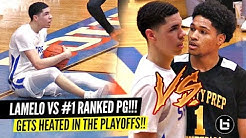 LaMelo Ball vs #1 RANKED PG GETS HEATED!!! Melo Gets TESTED!?!? Spire ANOTHER FIGHT!?