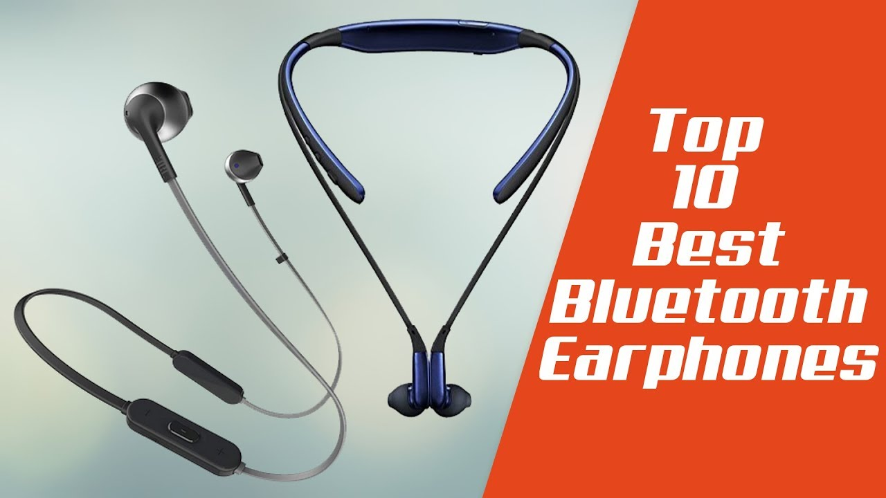 10 Best Wireless Bluetooth Earphones With Price India Youtube