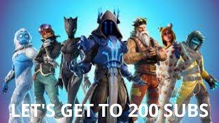 Fortnite Battle Royale! Xbox Player! 200+ Wins!